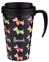 Harrods Union Jack Westies Travel Mug
