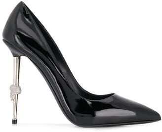 Philipp Plein Black Stiletto Pumps