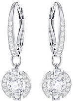Swarovski Sparkling Pave Drop Earrings