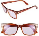 Tom Ford Women's Frederick 54Mm Sunglasses - Blonde Havana/ Violet