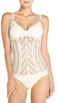 Robin Piccone Women's 'Sophia' Cutout One-Piece Swimsuit