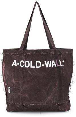 A-Cold-Wall* A Cold Wall* distressed shopper