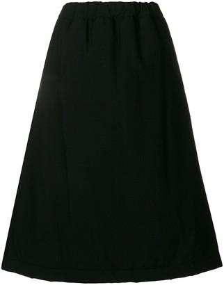 Comme des Garcons full flared A-line skirt