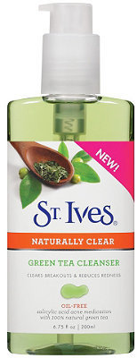St. Ives Naturally Clear Green Tea Cleanser