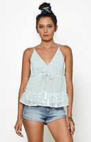 Honey Punch Ruffled Tank Top