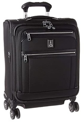 Travelpro Platinum(r) Elite - International Expandable Carry-On Spinner (Shadow Black) Luggage
