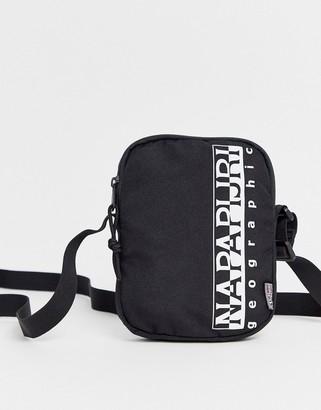 Napapijri Happy small cross body bag in black
