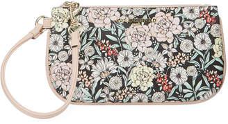Karl Lagerfeld Paris Leather Wristlet Bag