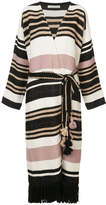Ulla Johnson striped long-line cardigan