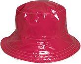 Dorfman Pacific Scala Reversible Rain Hat w/ Polka Dot Lining