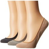 Sperry Marl Padded Sole Liner 3-Pack Women's No Show Socks Shoes