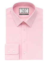 Thomas Pink Errol Texture Super Slim Fit Button Cuff Shirt