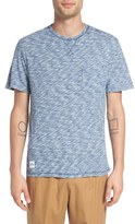 NATIVE YOUTH 'Monsoon' Space Dye Pocket T-Shirt