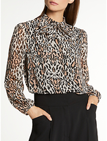 Somerset by Alice Temperley New Bow Blouse, Multi