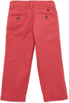 Ralph Lauren Suffield Crinkled Cotton Pants, Red, Boys' 4-7