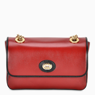 Gucci Red leather small shoulder bag