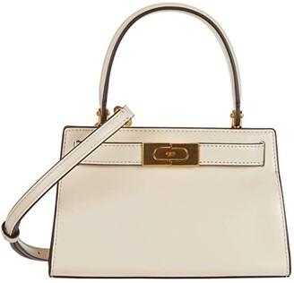 Tory Burch Lee Radziwill Petite Bag (New Cream) Cross Body Handbags
