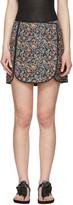 Isabel Marant Navy Prunella Miniskirt