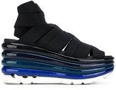 Salvatore Ferragamo wedge sandals - women - Calf Leather/Polyamide/rubber - 5.5