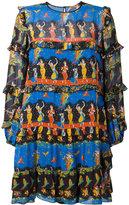 No.21 dance print shift dress - women - Viscose - 40