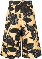 Jacquemus floral print shorts