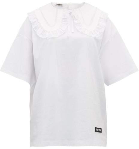 7317a0a678e70 Miu Miu Women's Tees And Tshirts - ShopStyle