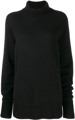 The Row funnel neck jumper