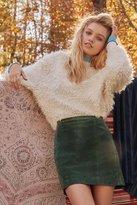 Urban Renewal Vintage Suede Mini Skirt