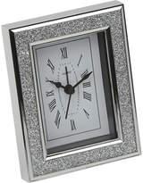 Arthur Price Diamante-framed clock