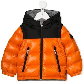 Moncler Enfant Logo Hood Puffer Jacket