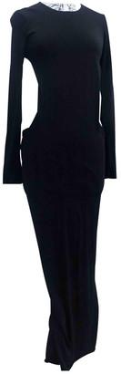 Anne Valerie Hash Black Wool Dresses