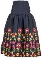 Stella Jean Flower Skirt