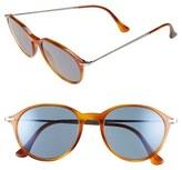 Persol Men's 51Mm Sunglasses - Light Havana