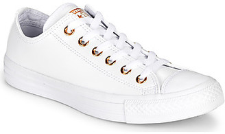 Converse CHUCK TAYLOR ALL STAR CRAF LEATHER women's Shoes (Trainers) in White