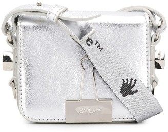 Off-White Bulldog Clip Mini Tote Bag