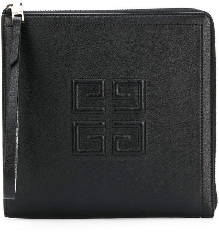 Givenchy 4G zip around clutch