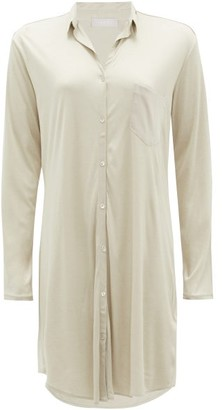 Hanro Grand Central Modal-blend Jersey Nightdress - Khaki