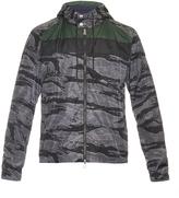 Moncler Cobalt camouflage-print jacket