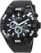 Invicta Men's 'Specialty' Swiss Quartz Stainless Steel and Silicone Casual Watch, Color: (Model: 21459)