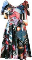Moschino space print dress