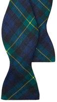 Polo Ralph Lauren Tartan Linen Bow Tie
