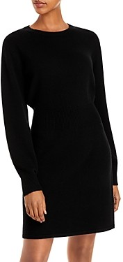 Theory Wool & Cashmere Sweater Dress