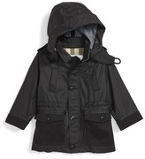Burberry 'Mini Thenner' Hooded Jacket (Baby Boys)