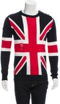Balmain Linen Great Britain Sweater