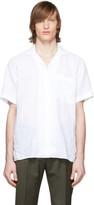 BOSS White Linen Shirt