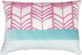 Kim Salmela Linear 14x20 Linen-Blended Pillow, Multi