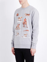 Billionaire Boys Club Space hunt cotton-jersey sweatshirt