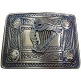 AAR Men's Irish Celtic Harp Kilt Belt Buckle Antique/Celtic Kilt Belt Buckle Harp
