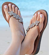 Aspiga Tatu Silver Heel Leather Sandals