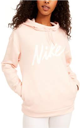 Nike Women Therma Logo Fleece Training Hoodie
